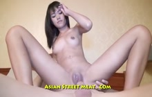 Anal with slim Thai girl