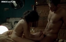 Caroline Ducey and Rocco Siffredi having sensual sex